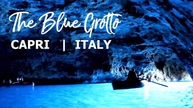 Blue Grotto, Capri, Italy   Grotta Azzurra, Italia - TISSEO.COM Video Sharing
