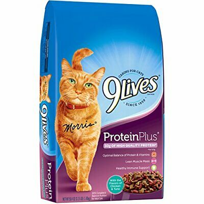 9 Lives Protein Plus Dry Cat Food, 3.15 Lb . Free shipping to USA    eBay
