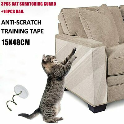 Cat Scratch Deterrent Tape Double Anti-Scratch Tape Cat Couch Protectors 3PCS  | eBay