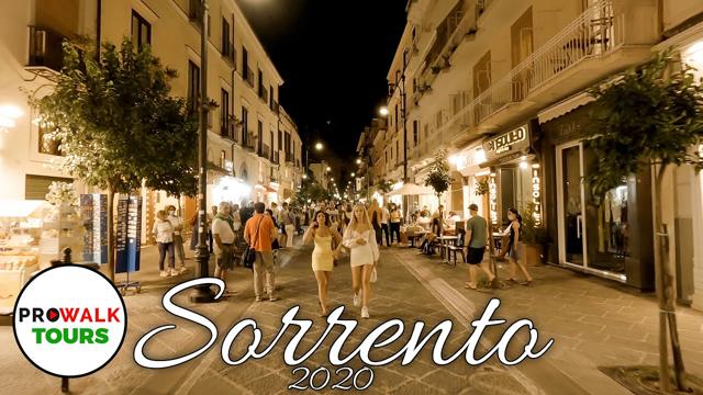 Sorrento Evening Walk - Sept. 19th, 2020 - TISSEO.COM Video Sharing