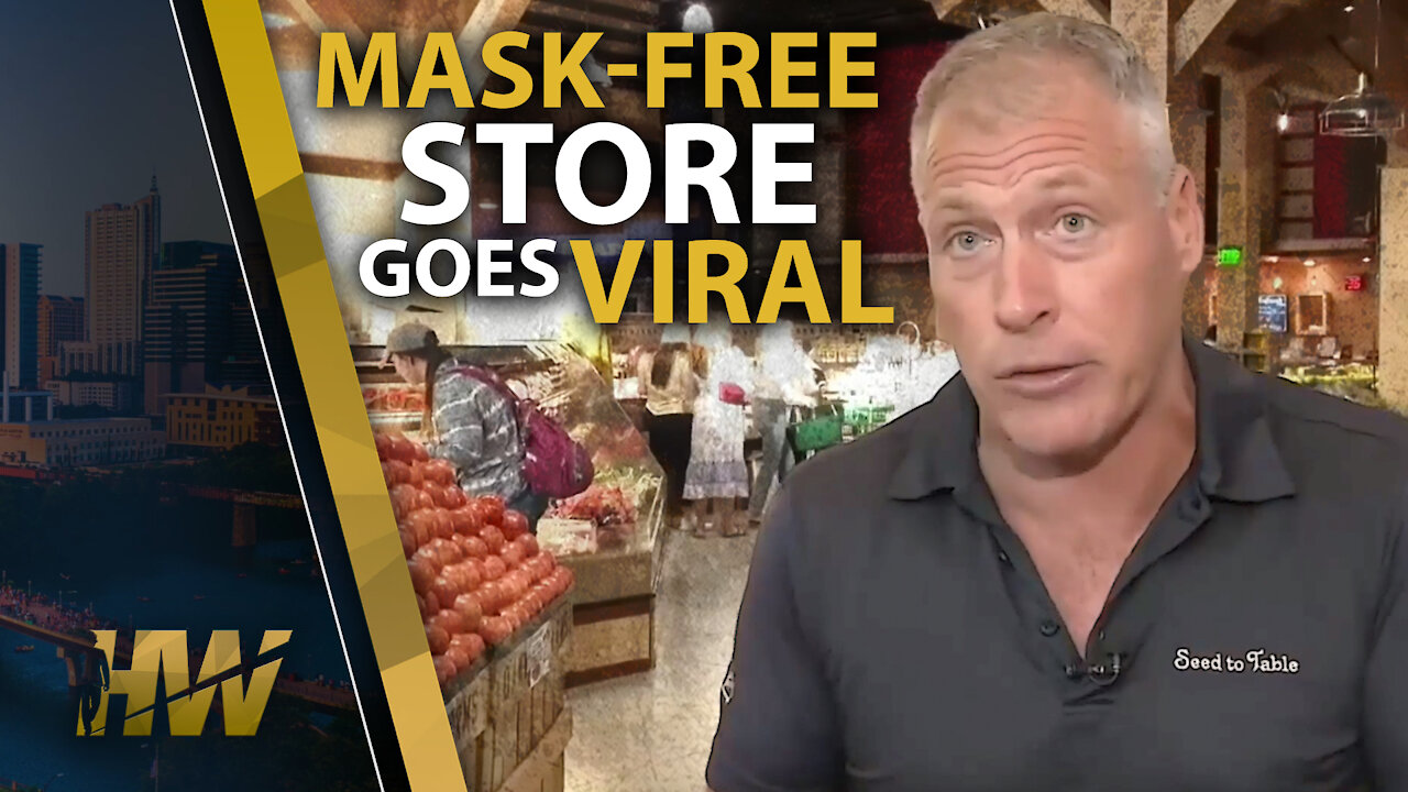 Mask-Free Store Goes Viral