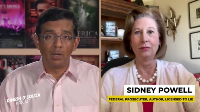 Dinesh D'Souza Interviews Sidney Powell | Dinesh D'Souza Podcast