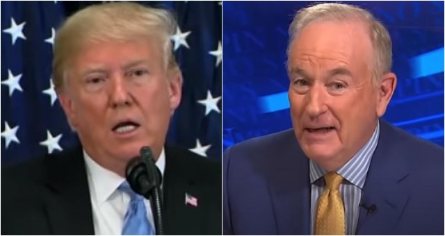 BREAKING: President Trump And Bill O'Reilly Make HUGE Announcement [VIDEO]