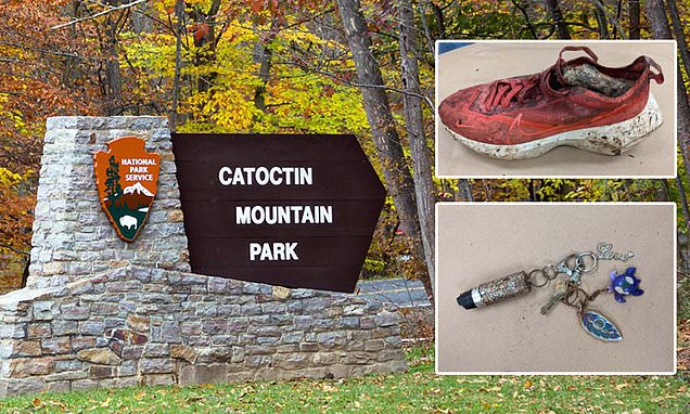 Woman's dismembered body found on Maryland trail after hikers discovered severed foot inside sneaker | Daily Mail Online